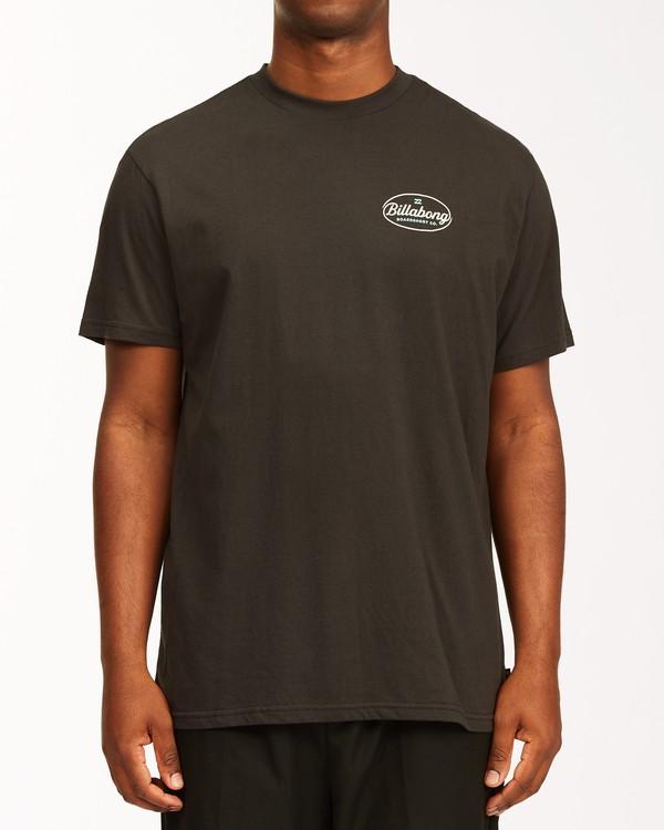 0 Vista Short Sleeve T-Shirt Black ABYZT00653 Billabong