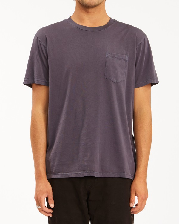 0 Essential Pocket Wave Washed T-Shirt White ABYZT00656 Billabong