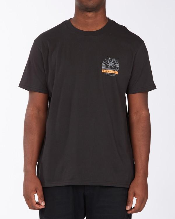 0 Goods Short Sleeve T-Shirt Black ABYZT00715 Billabong