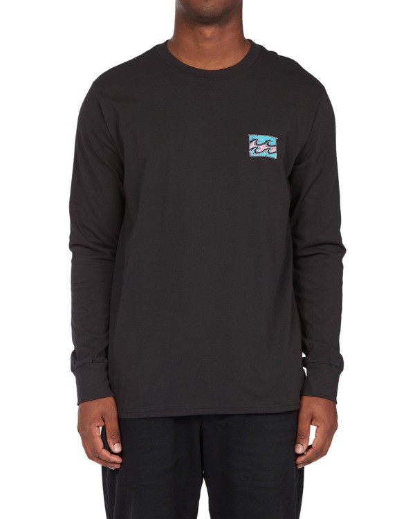 0 Draft Long Sleeve T-Shirt Black ABYZT00718 Billabong