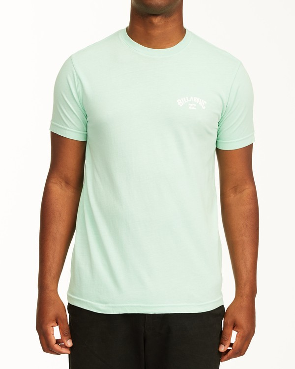 0 Arch Short Sleeve T-Shirt Green ABYZT00758 Billabong