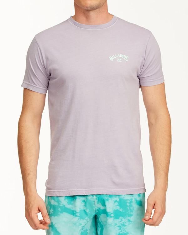 0 Arch Short Sleeve T-Shirt Purple ABYZT00758 Billabong