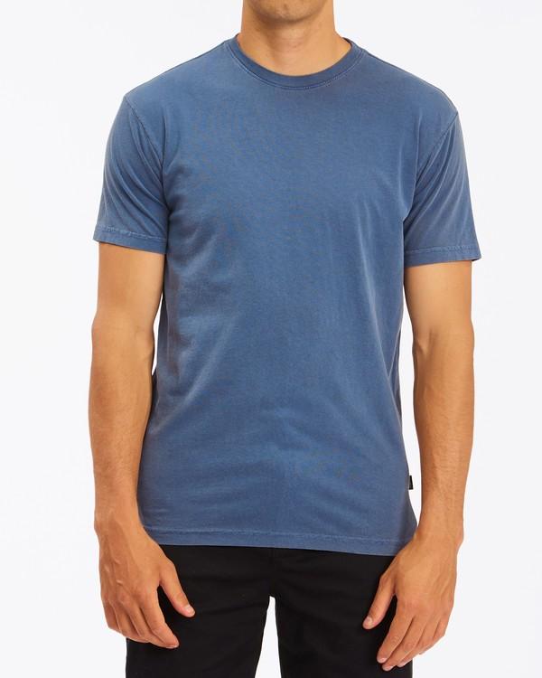 0 Essential Short Sleeve T-Shirt Blue ABYZT00759 Billabong