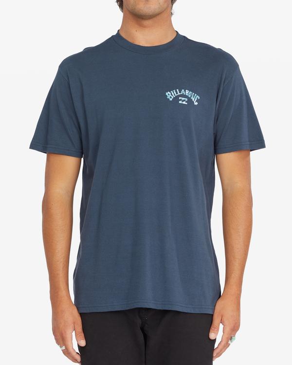 0 Arch Fill Short Sleeve T-Shirt Blue ABYZT00788 Billabong