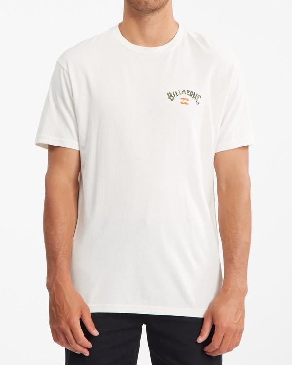 0 Arch Fill Short Sleeve T-Shirt White ABYZT00788 Billabong