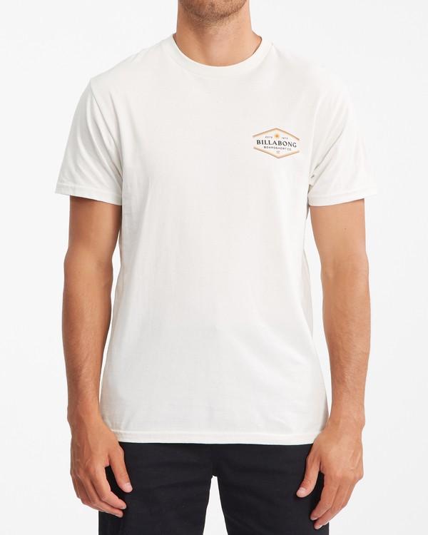 0 Walled Short Sleeve T-Shirt White ABYZT00800 Billabong