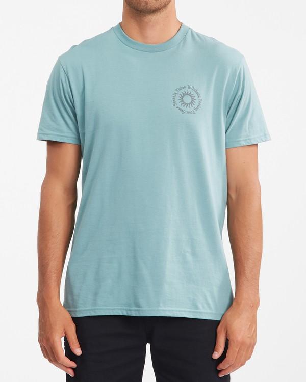0 Sunshine Short Sleeve T-Shirt Blue ABYZT00801 Billabong