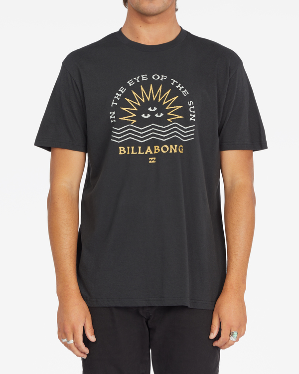 0 Sunshine Short Sleeve T-Shirt Black ABYZT00801 Billabong