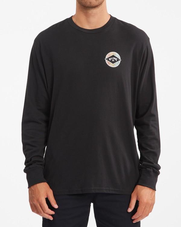 0 Rotor Arch Long Sleeve T-Shirt Black ABYZT00824 Billabong