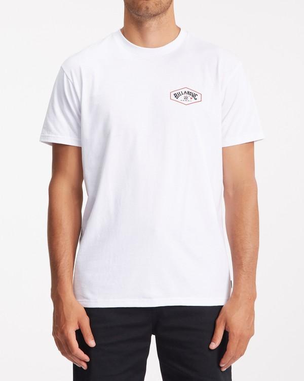 0 Access Island Short Sleeve T-Shirt White ABYZT00991 Billabong