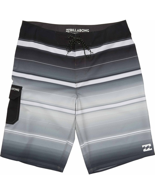0 Boys' All Day X Stripe Boardshorts  B108JASX Billabong