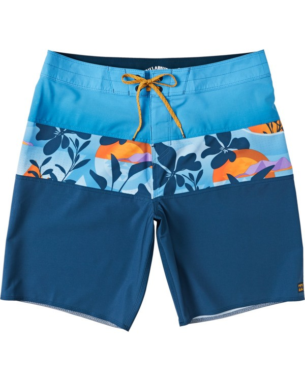 0 Boys' Tribong Pro Boardshorts Yellow B1201BTB Billabong