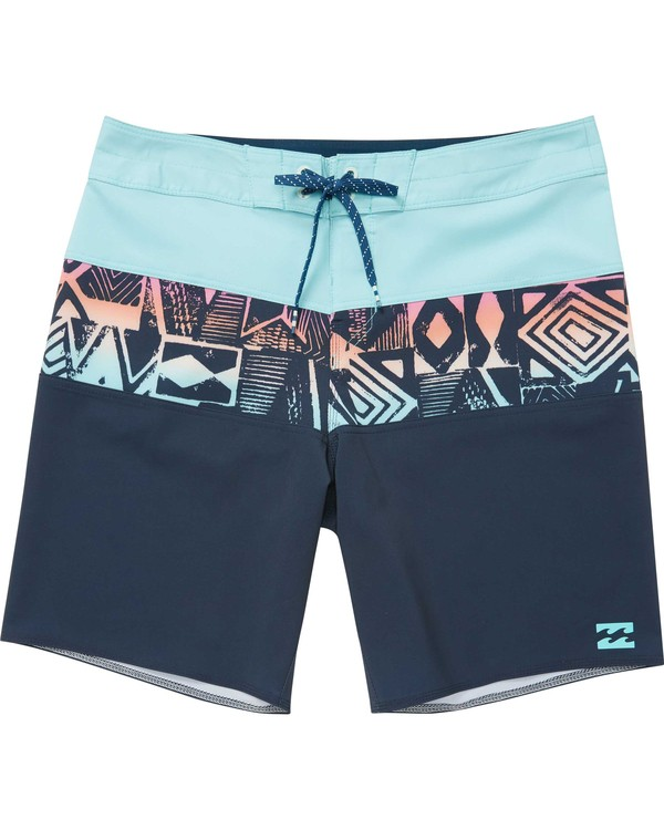 0 Boys' Tribong X Boardshorts Blue B121NBTB Billabong