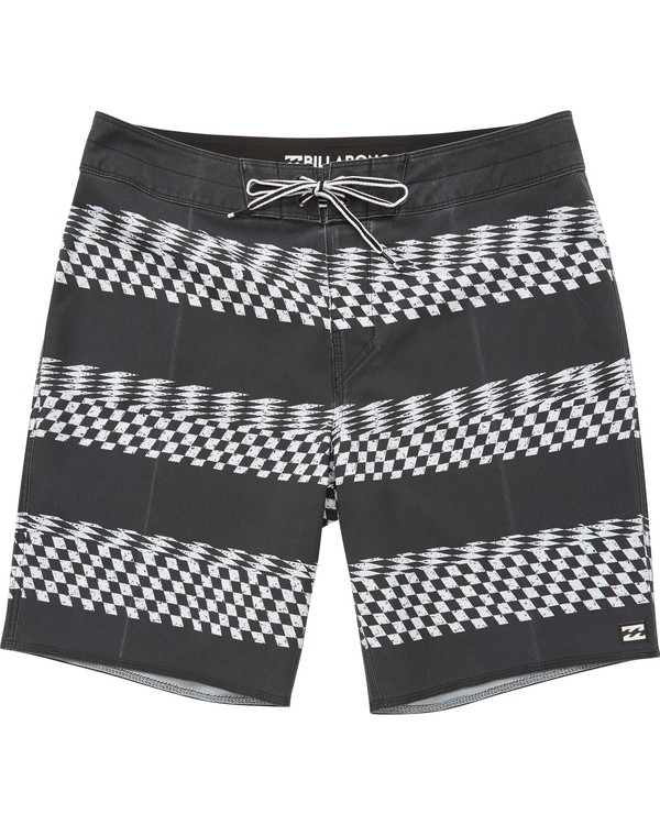 0 Boys' Sunday X Stripe Boardshorts  B123QNSS Billabong