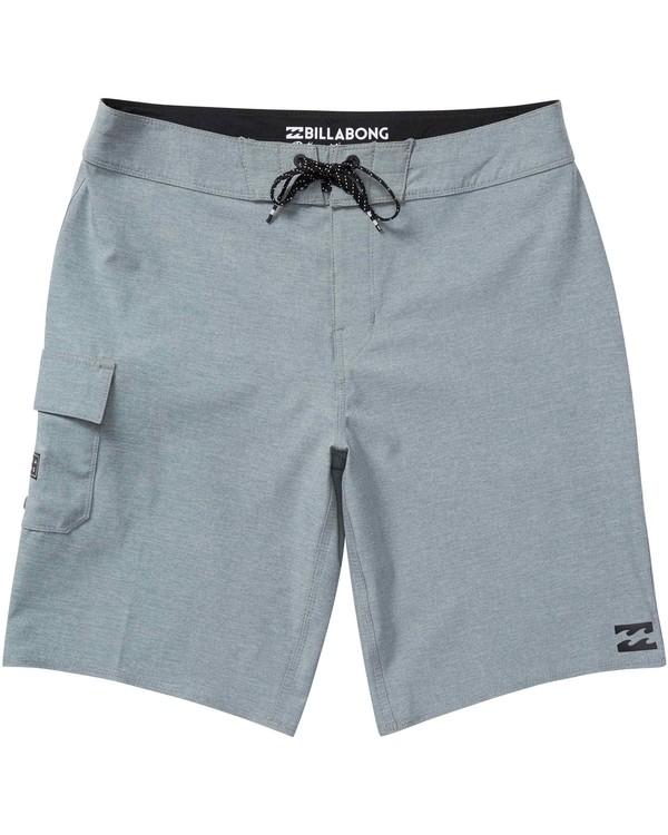 0 Boys' All Day X Boardshorts Grey B124NBAL Billabong