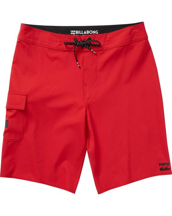 0 Boys' All Day X Boardshorts Red B124NBAL Billabong