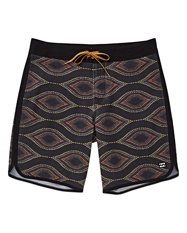 0 Boys' 73 Line Up Pro Boardshorts Blue B126VBSL Billabong
