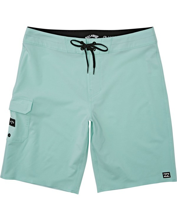 0 Boys' All Day Pro Boardshorts Green B1351BAP Billabong