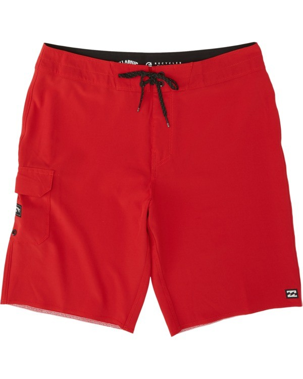 0 Boys' All Day Pro Boardshorts Red B1351BAP Billabong