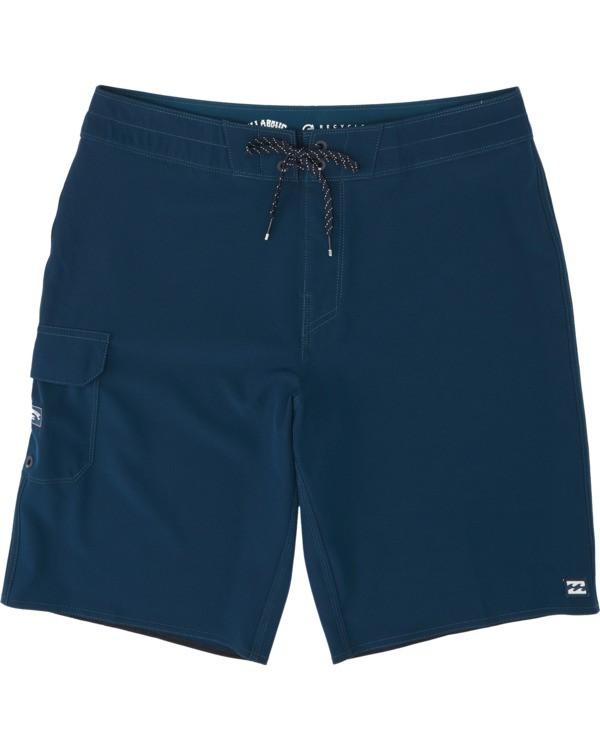 0 Boys' All Day Pro Boardshorts Blue B1351BAP Billabong