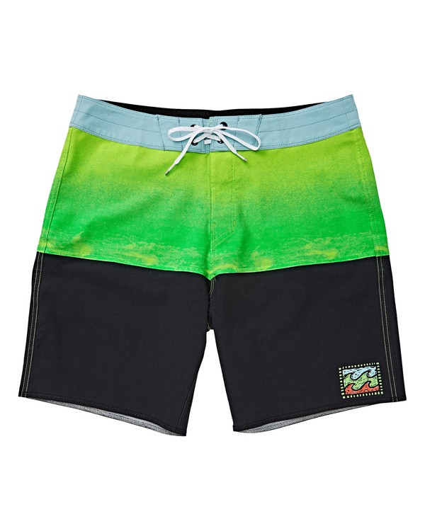 0 Boys' Fifty50 Fade Pro Boardshorts Green B136VBFF Billabong