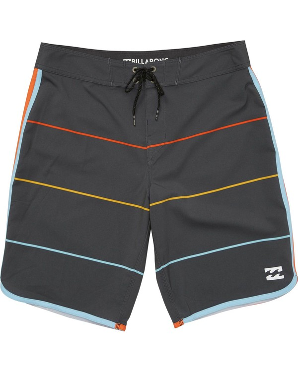 0 Boys' 73 X Stripe Boardshorts  B138LSTX Billabong