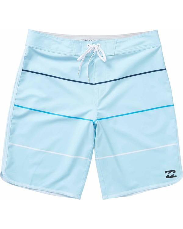 0 Boys' 73 X Stripe Boardshorts  B138LSTX Billabong