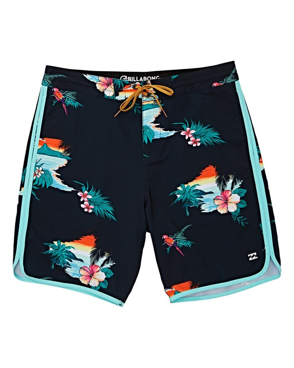 0 Boys' 73 Lineup LT Boardshorts Black B143TBSL Billabong