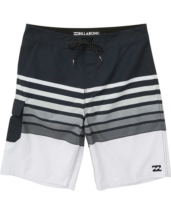 0 Boys' All Day OG Stripe Boardshorts  B165NBAS Billabong