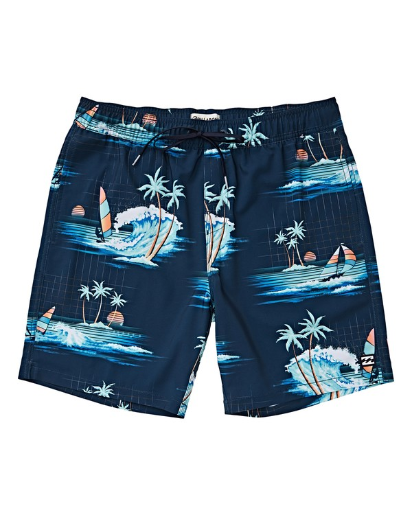 0 Boys' Sundays Layback Brown B180VBSU Billabong