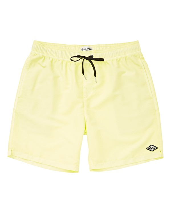 0 Boys' All Day Layback Green B182VBAD Billabong