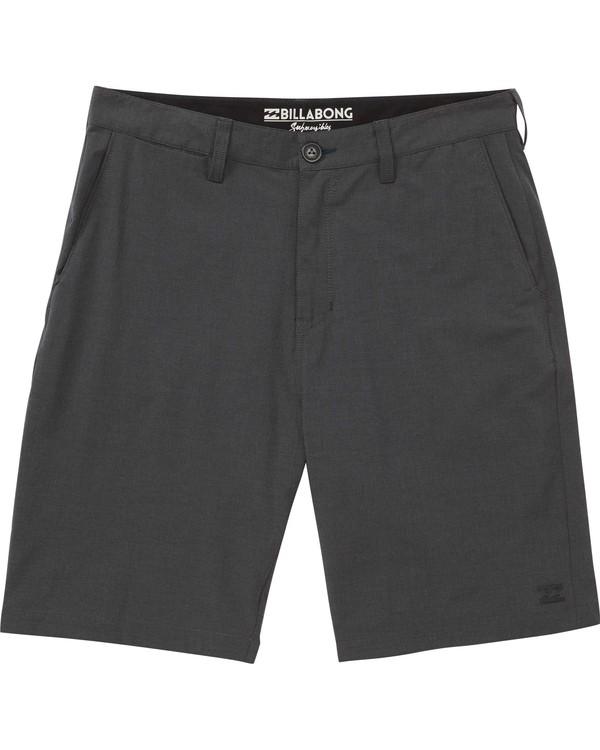 0 Boys' Crossfire X Submersibles Shorts  B201ECRX Billabong