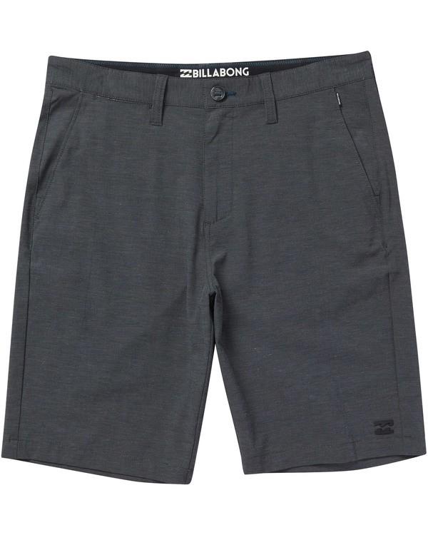 0 Boys' Crossfire X Shorts Black B201TBCX Billabong