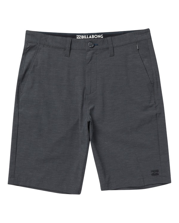 0 Boys' Crossfire X Shorts Black B201VBCX Billabong