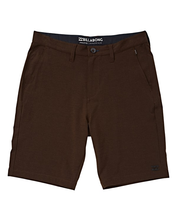 0 Boys' Crossfire X Shorts Brown B201VBCX Billabong