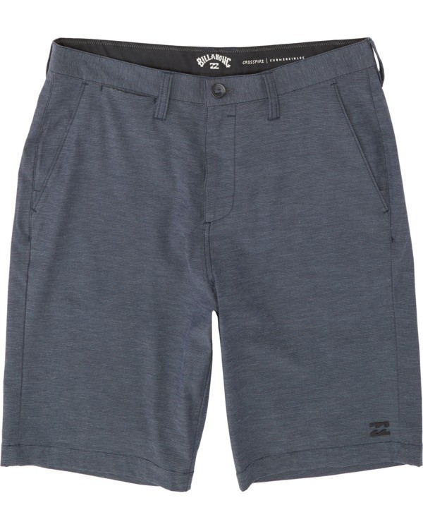 0 Boys' Crossfire Submersible Walkshort Blue B2021BCX Billabong