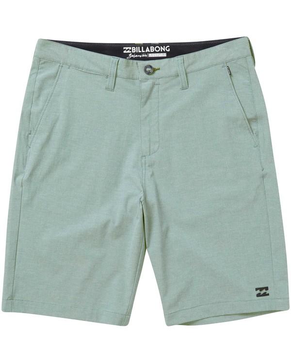 0 Boys' Crossfire X Shorts Blue B202NBCX Billabong