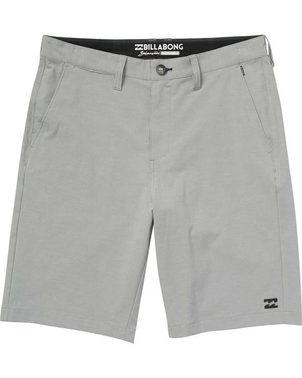 0 Boys' Crossfire X Shorts Grey B202NBCX Billabong