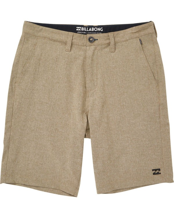 0 Boys' Crossfire X Shorts Beige B202NBCX Billabong