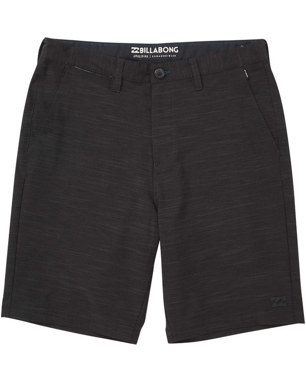 0 Boys' Crossfire X Slub Hybrid Shorts  B202TBCS Billabong