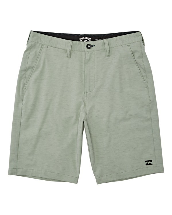 0 Boys' Crossfire Slub Submersible Walkshort Grey B2031BCS Billabong