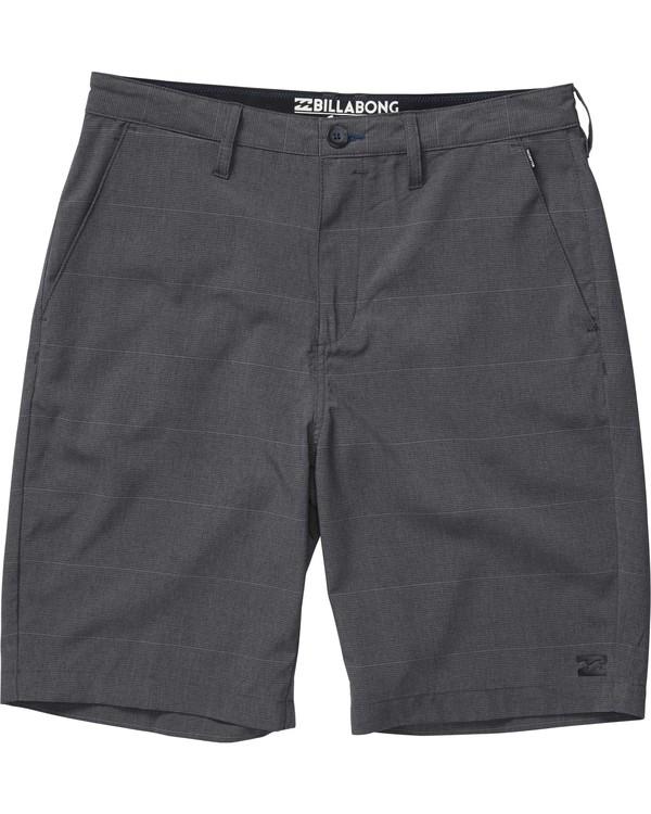 0 Boys' Crossfire X Stripe Shorts  B204JCXS Billabong