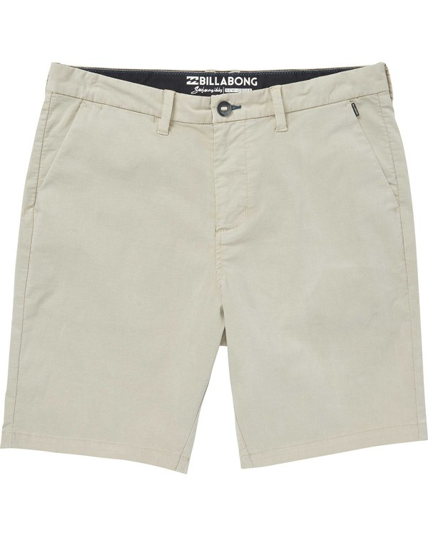 0 Boys' New Order X Overdye Walkshorts Red B207TBNO Billabong