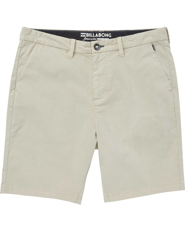 0 Boys' New Order X Overdye Shorts Beige B209NBNO Billabong