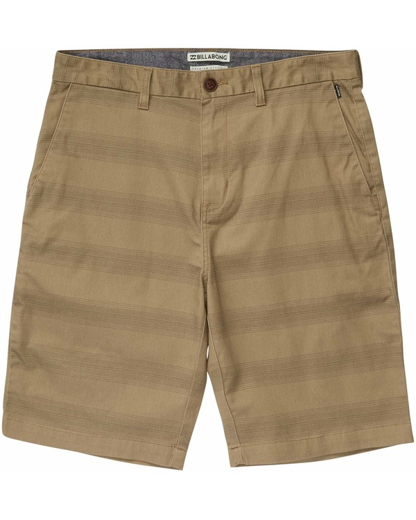 0 Boys' Carter Stretch Stripe Shorts  B219JCAP Billabong