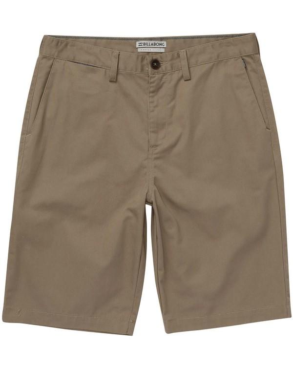 0 Boys' Carter Shorts Beige B230NBCA Billabong