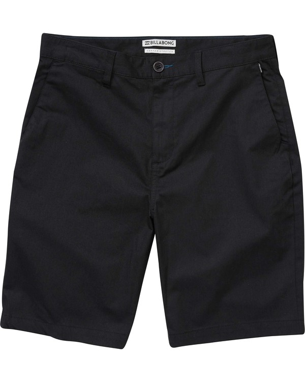 0 Boys' Carter Stretch Shorts Black B231NBCS Billabong