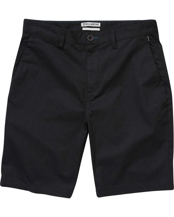 0 Boys' Carter Stretch Shorts Black B231NBCS Billabong