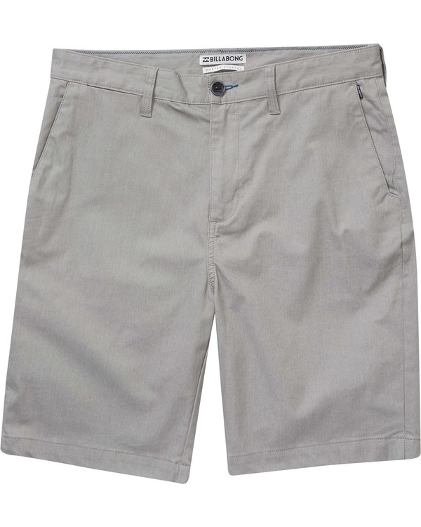 0 Boys' Carter Stretch Shorts Grey B231NBCS Billabong
