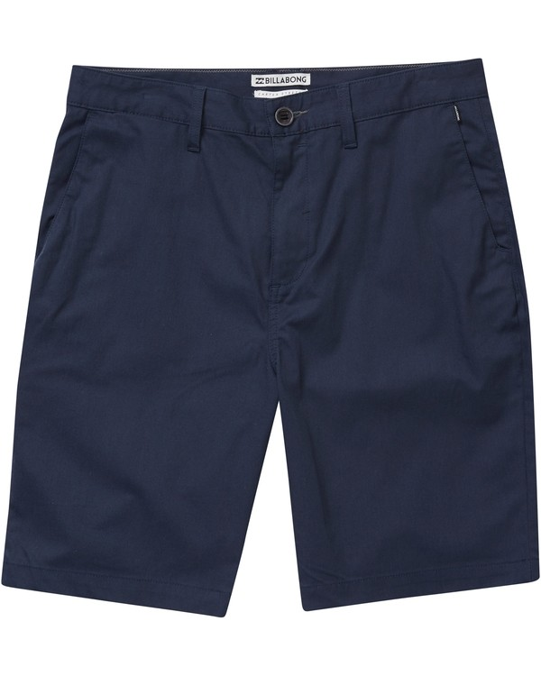 0 Boys' Carter Stretch Shorts Blue B231NBCS Billabong